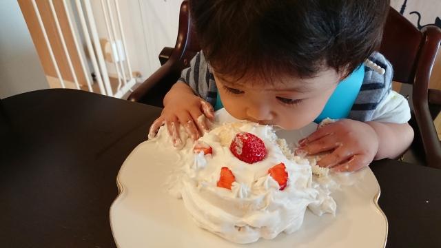 ケーキ は スマッシュ と