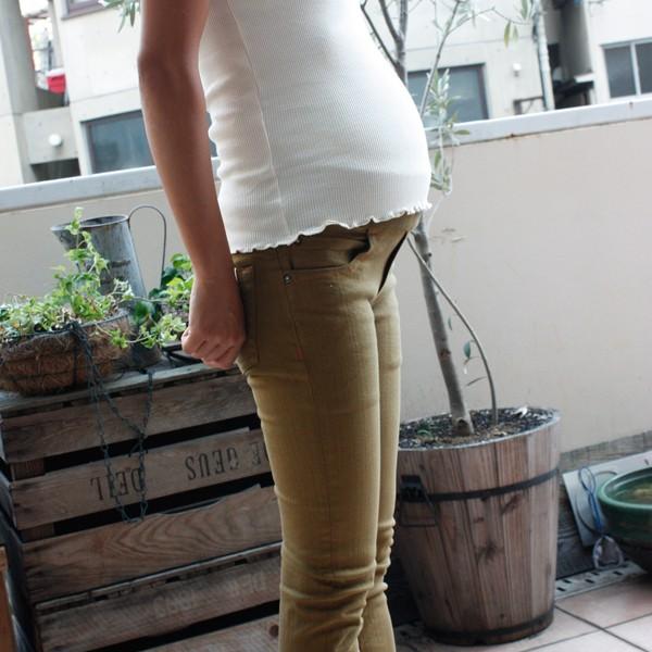 ウエストゴム 炭染め オーガニックコットンストレッチパンツ | オーガニックコットン代官山の出産祝い&ベビー服Organically