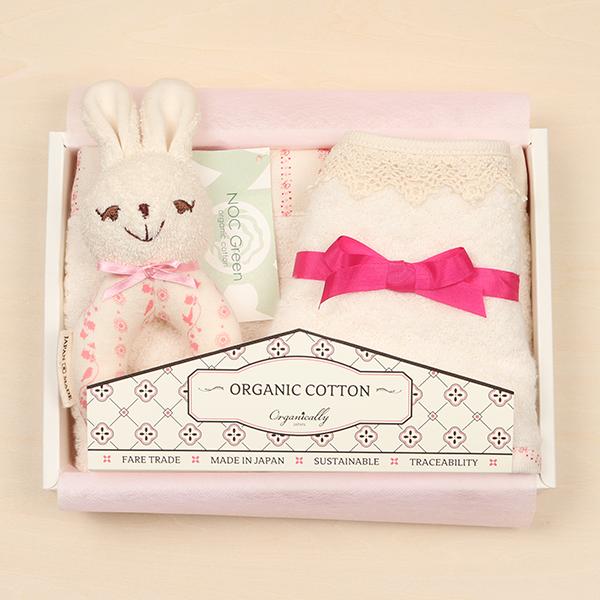 ウサギのおもちゃの出産祝い